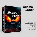 POWERFUL LIBRARY BY MAICOL REMIX